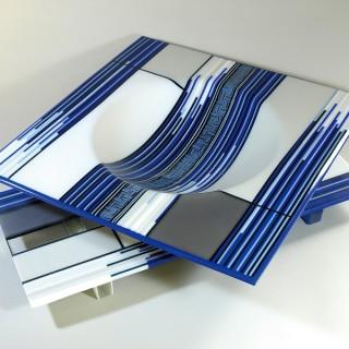新潟三越 鍋田尚男ガラス作品展 2015