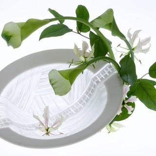 〜彩の華とモザイク〜鍋田尚男ガラス作品